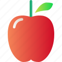 apple, food, fresh, fruit, healthy, organic icon