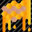 autumn, bee, honey, honeycomb, sweet