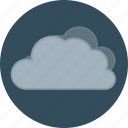 autumn, blustery, clouds, fall, rain, rainy, storm, weather icon