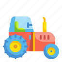 agriculture, arming, gardening, tractor, vehicle icon