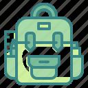 backpack, baggage, bags, luggage, ravel