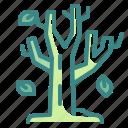 autumn, botanic, garden, season, tree icon