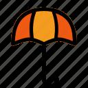 protect, protection, rain, umbrellla, weather icon