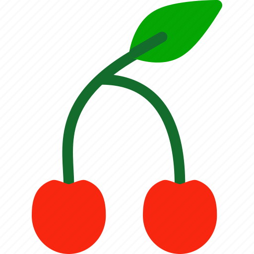 berry, cherry, food, fruit, healthy icon