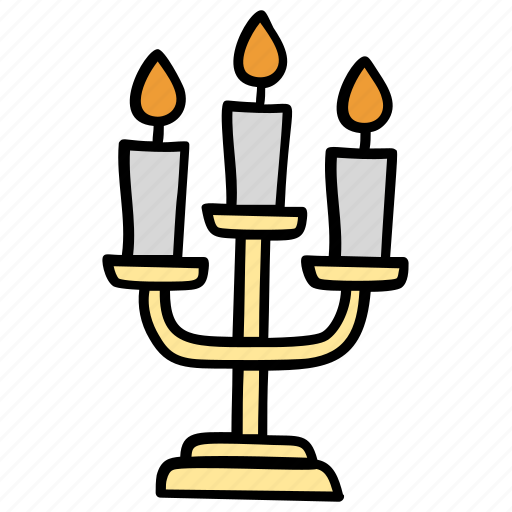 candle holder, candle stand, chandelier, christmas decoration, light stand icon