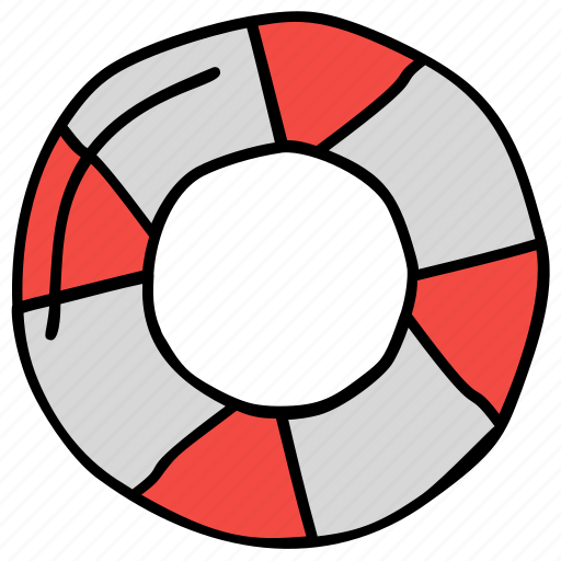 life rescue, lifebuoy, safety tube, swimming tyre, tyre tube icon