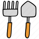 farming tools, gardening, gardening equipments, gardening tools, shovel icon