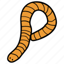 bug, earthworm, insect, parasite, roundworm, worm icon