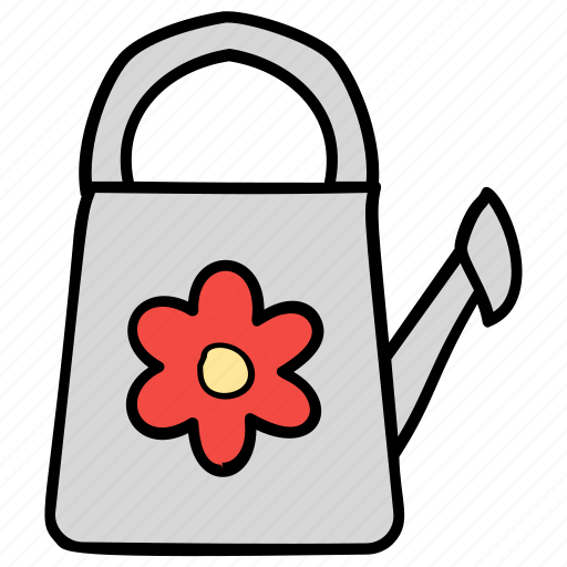 gardening can, gardening equipment, gardening pot, watering can, watering flowers icon