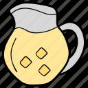 ewer, jug, kitchen utensil, pot, vessel icon