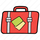 baggage, luggage, suitcase, travel, travel equipment icon
