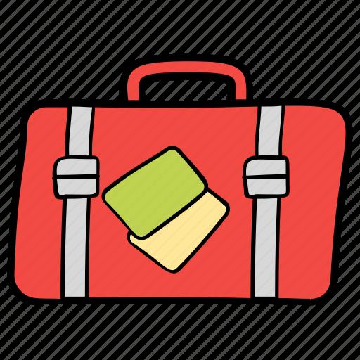baggage, luggage, suitcase, travel, travel equipment icon