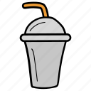 drink, refreshing drink, smoothie drink, takeaway coffee, takeaway drink icon