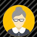 avatar, face, female, interface, profile, user, woman icon
