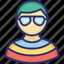 avatar, gentleman, image, man icon