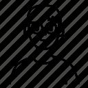 account, avatar, glasses, profile, user