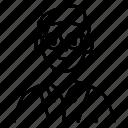 account, avatar, glasses, male, user