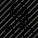 avatar, female, glasses, people, user