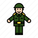 armi, avatar, cop, man, officer icon