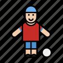 avatar, boy, man, sport icon