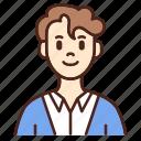 avatar, user, profile, man, male