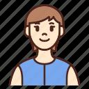 avatar, user, profile, woman, female, girl