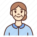 avatar, user, profile, woman, female
