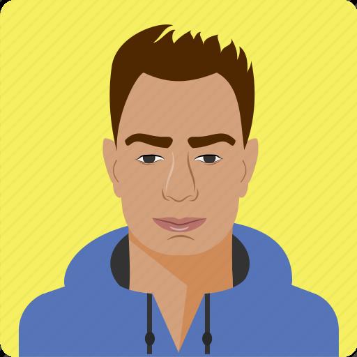 avatar, human, male, man, men, person, profile icon