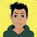 avatar, boy, man, person, user, human, profile
