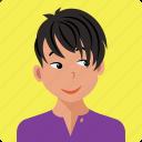avatar, boy, male, people, person, profile, user icon