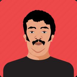 avatar, contact, human, men, person, profile, user icon