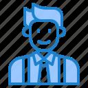 avatar, man, male, businessman, profile