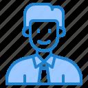 avatar, man, male, profile, businessman