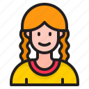 avatar, profile, girl, female, woman