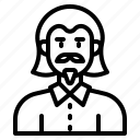 avatar, profile, man, male, person