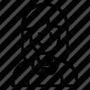 avatar, woman, user, girl, female