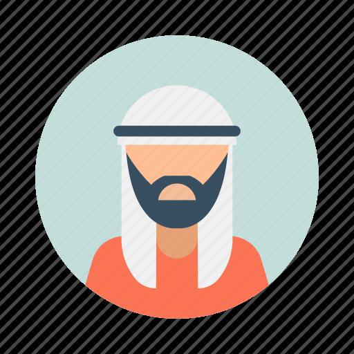 arab, arabic, avatar, business, character, handsome, muslim icon