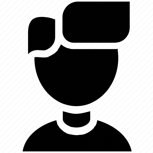 avatar, boy, hair, man, people, style, user icon