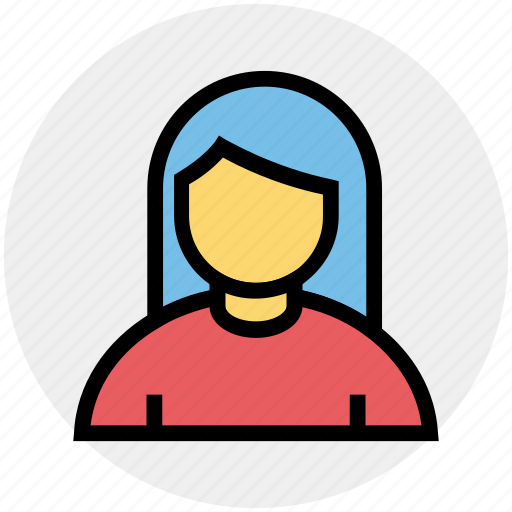 Avatar, blonde, girl, lady, office woman, woman icon - Download on Iconfinder