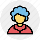 avatar, grandma, grandmother, old lady, old woman, people, woman icon