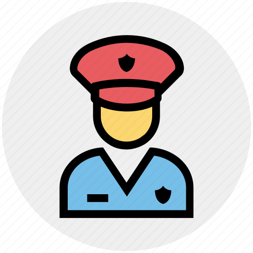 avatar, constable, officer, police, police officer, policeman, policewoman icon