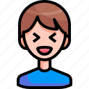 avatar, boy, happy, man, person, smiling