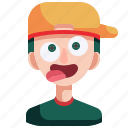 avatar, boy, crazy, man, person