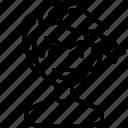 avatar, boy, man, person, smiley, wink icon