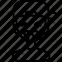 avatar, boy, emoji, man, person, squinting, tongue icon