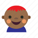 african, asian, avatar, baby, boy, kid icon
