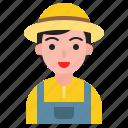 avatar, farmer, gardener, man, people, worker icon
