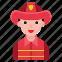 male, firefighter, user, man, avatar