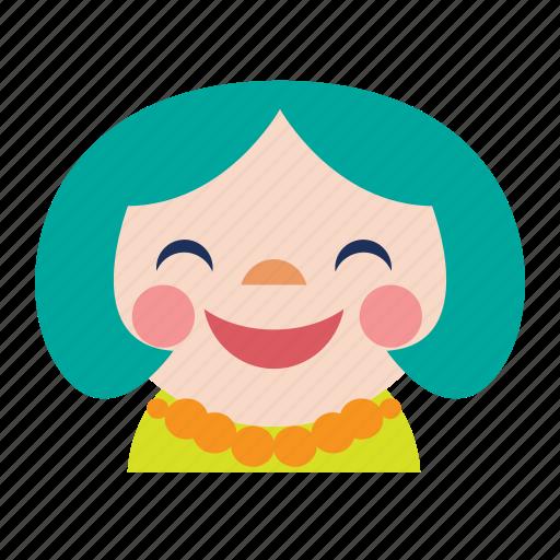 avatar, baby, chinese, girl, kid, smile icon