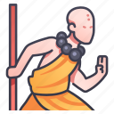 art, character, fighter, martial, monk, rpg, shaolin